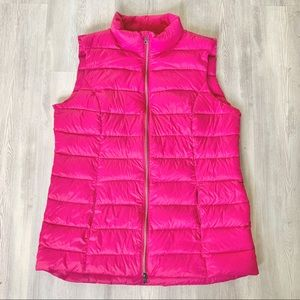 Lord & Taylor Down-filled packable puffer vest